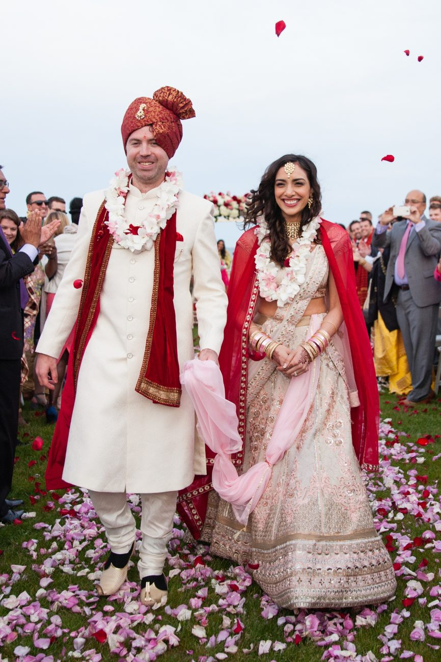 indian wedding on cape cod ceremony