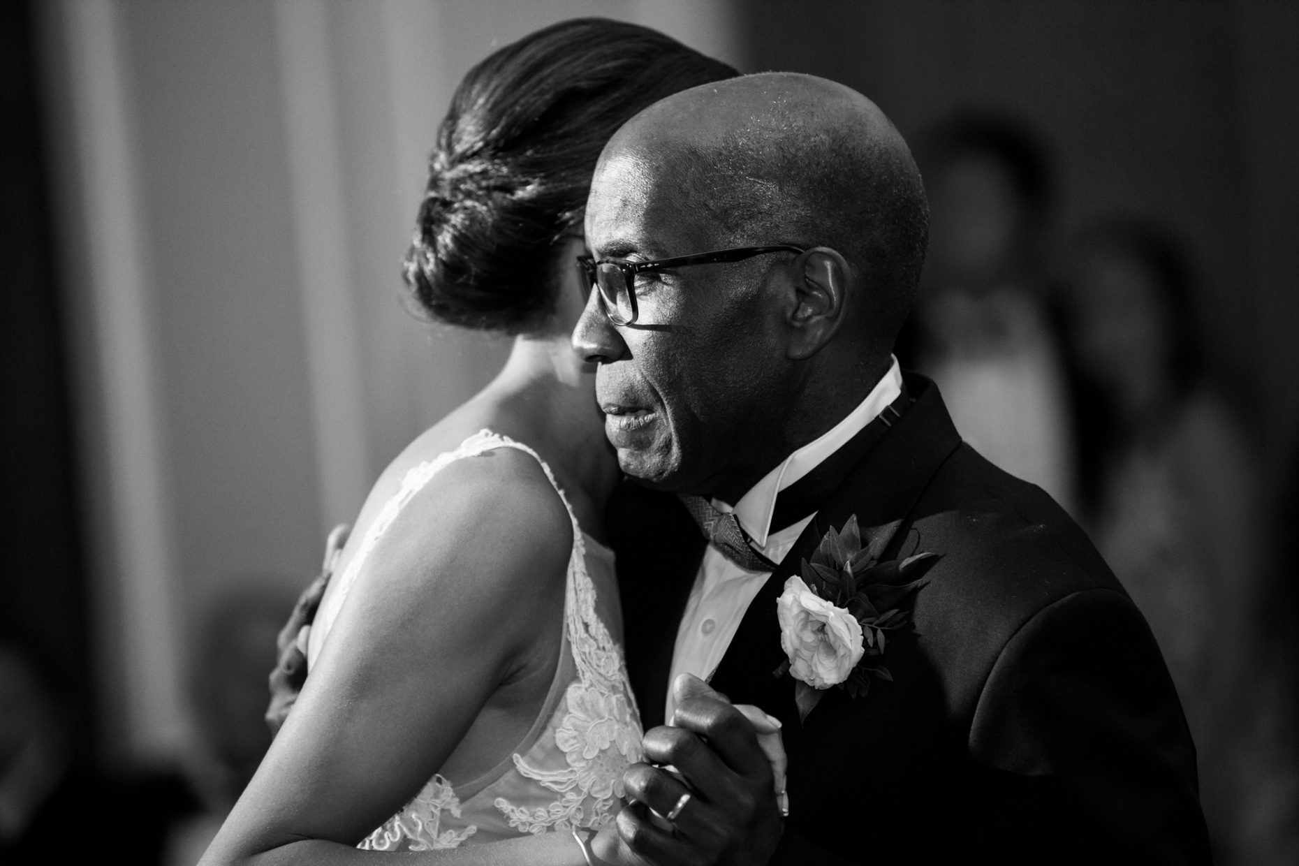 father daughter first dance at downtown boston wedding